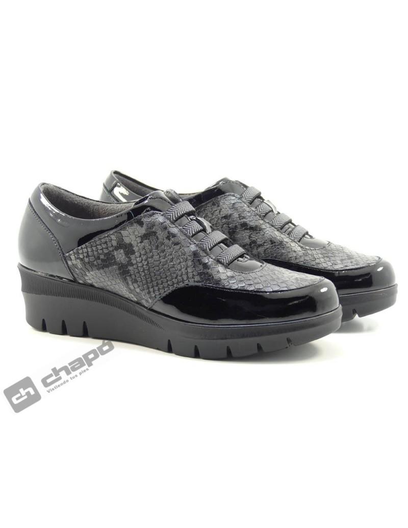 Sneakers Negro Pitillos 6453