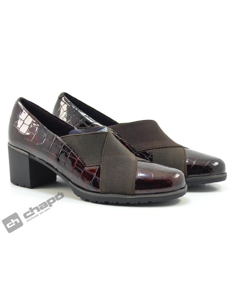 Zapatos Marron Pitillos 6330