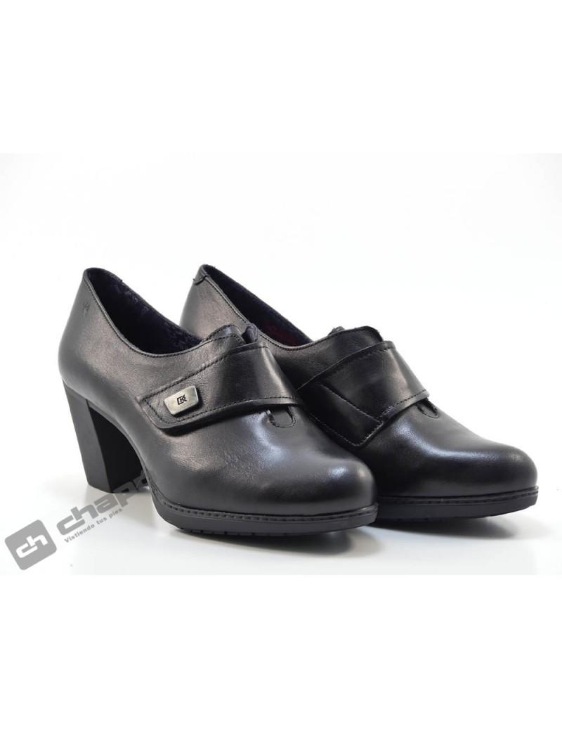 Zapatos Negro Dorking D8432