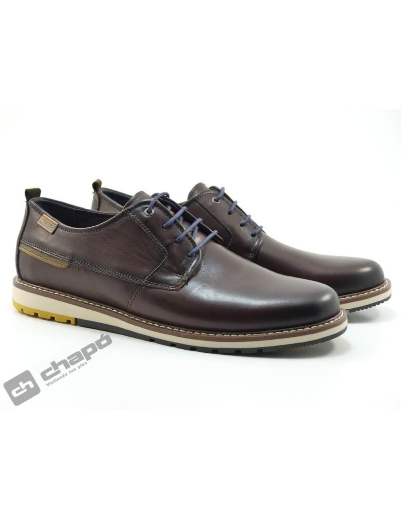 Zapatos Marron Pikolinos M8j-4314 Berna