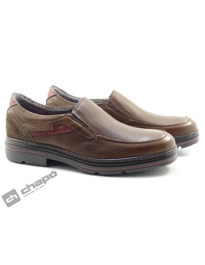 Mocasin Marron Fluchos F1046