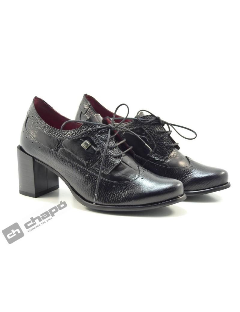 Zapatos Negro Jose Saez 7200