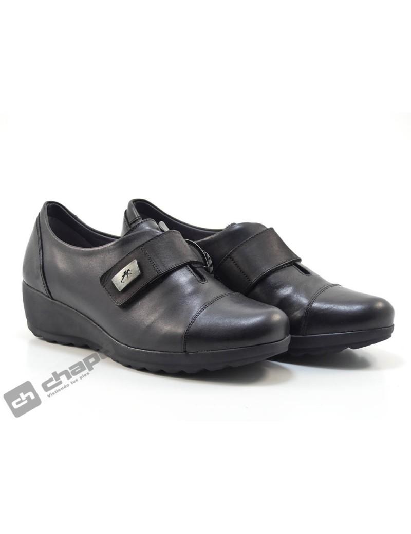 Zapatos Negro Fluchos F1071