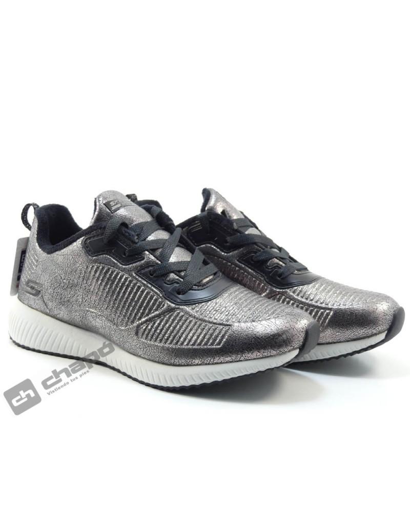Sneakers Plomo Skechers 33155