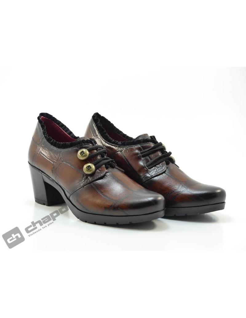 Zapatos Cuero Jose Saez 5102