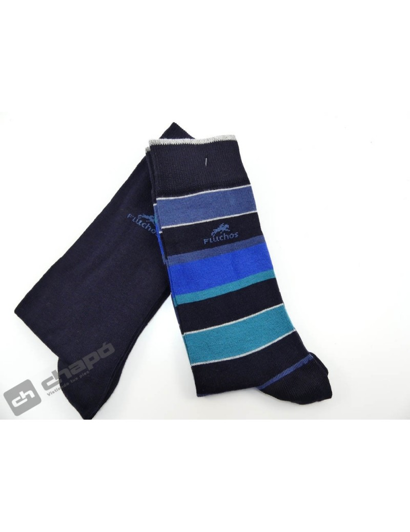 Calcetines Azul Fluchos Ca0003