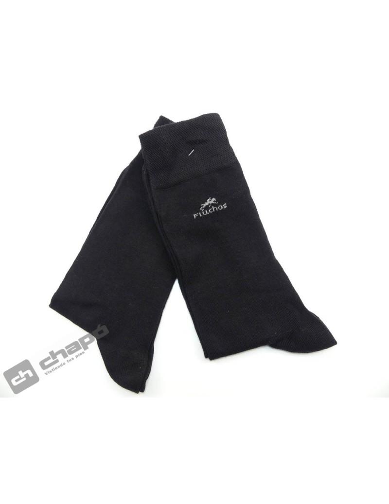Calcetines Negro Fluchos Ca0003