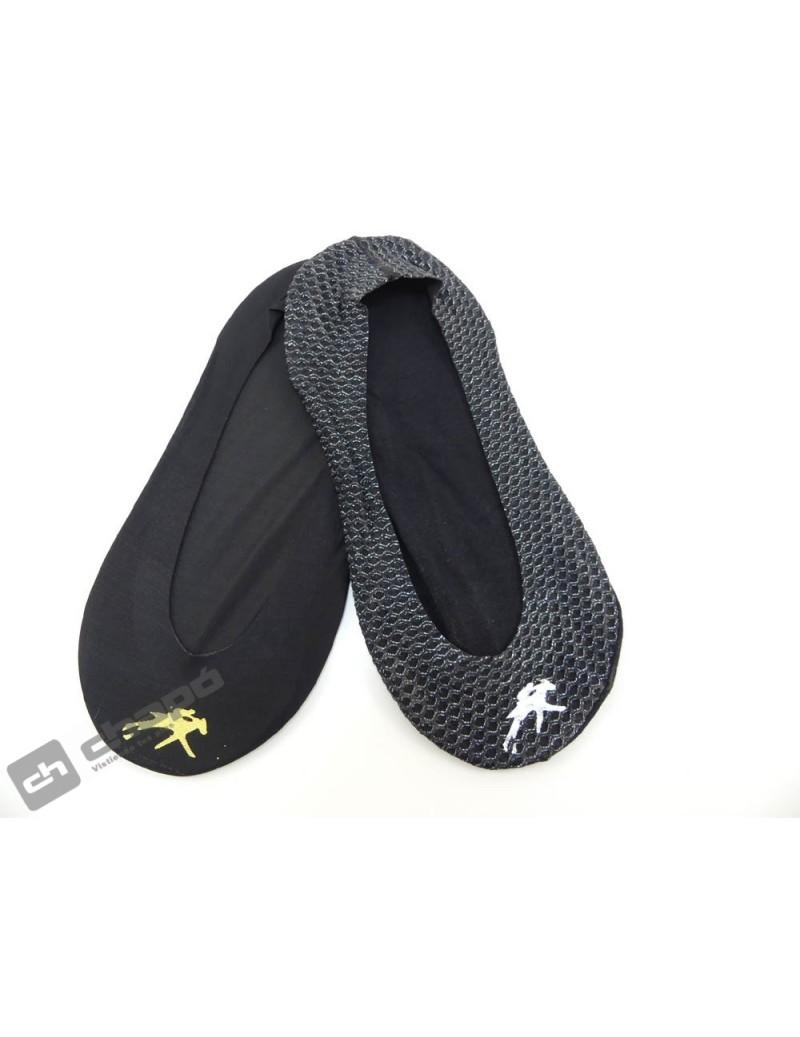 Calcetines Negro Fluchos 1010-negro+negro Sra