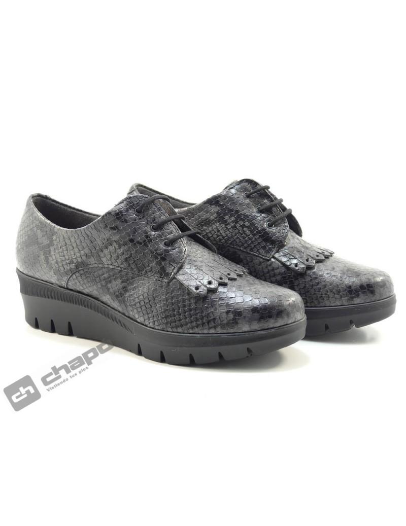 Zapatos Negro Pitillos 6451