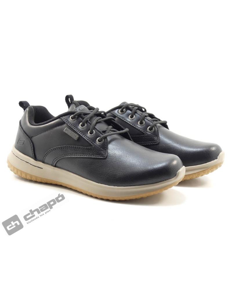 Sneakers Negro Skechers 65693