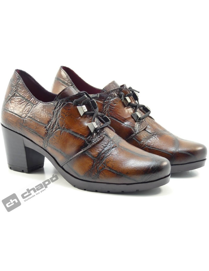 Zapatos Cuero Jose Saez 5180