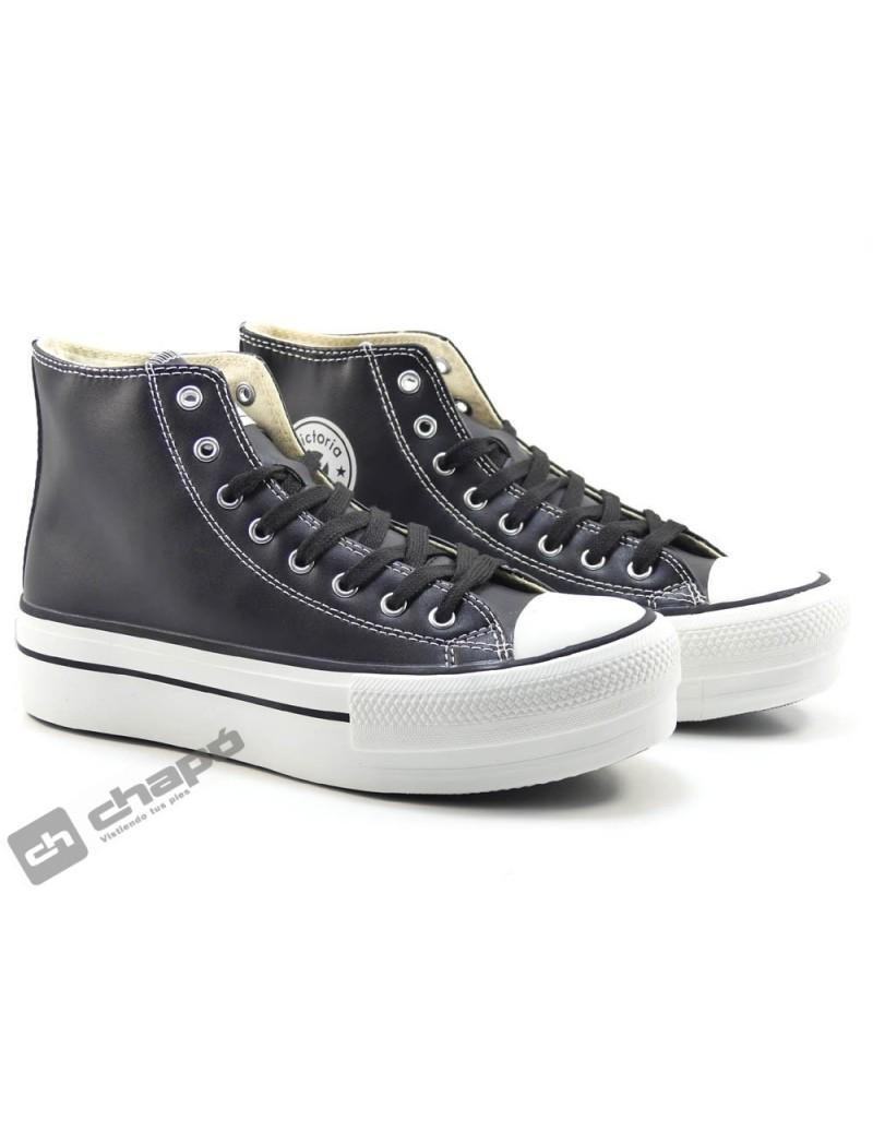 Sneakers Negro Zapatillas Victoria 1061107