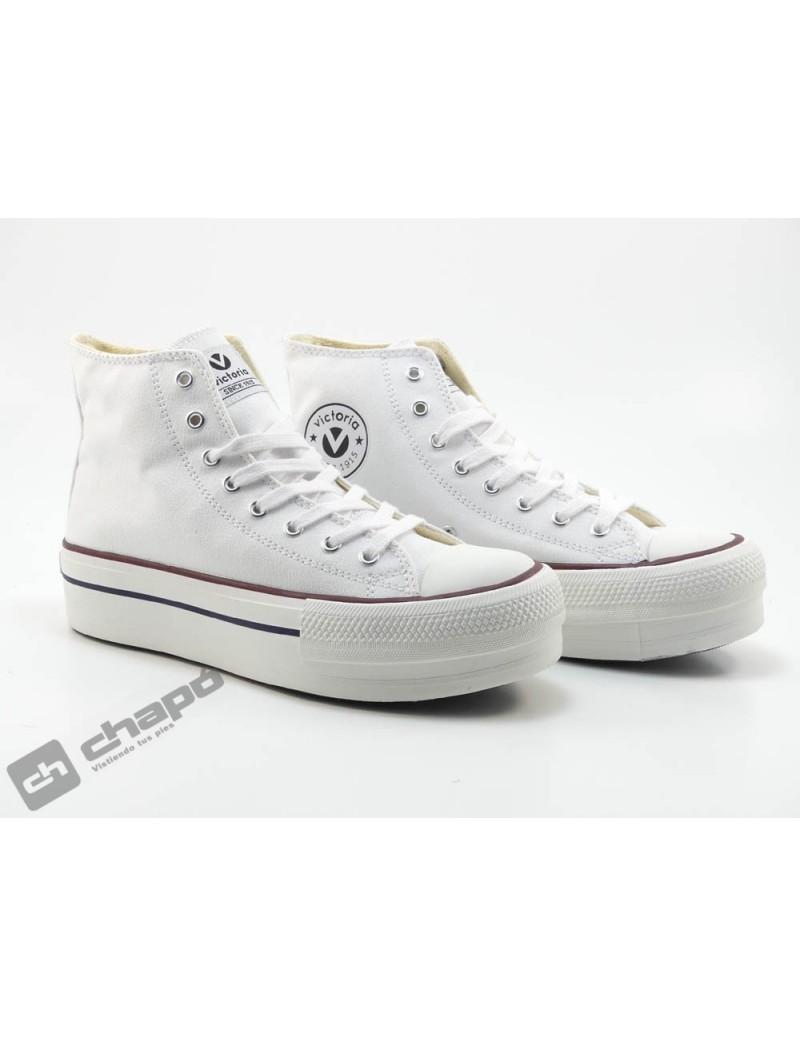 Sneakers Blanco Zapatillas Victoria 1061101