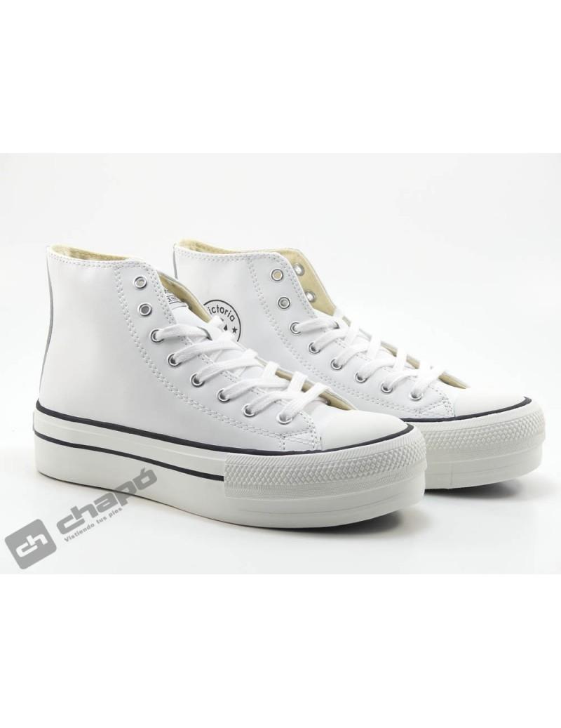 Sneakers Blanco Zapatillas Victoria 1061107