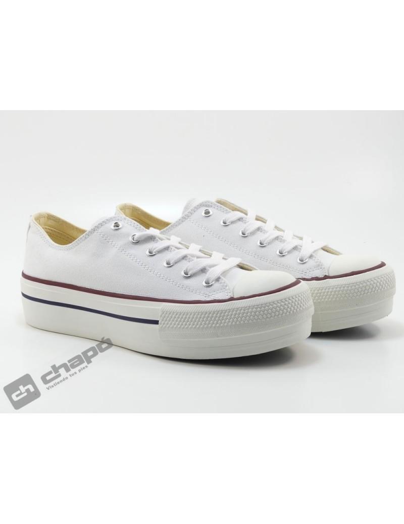 Sneakers Blanco Zapatillas Victoria 1061100