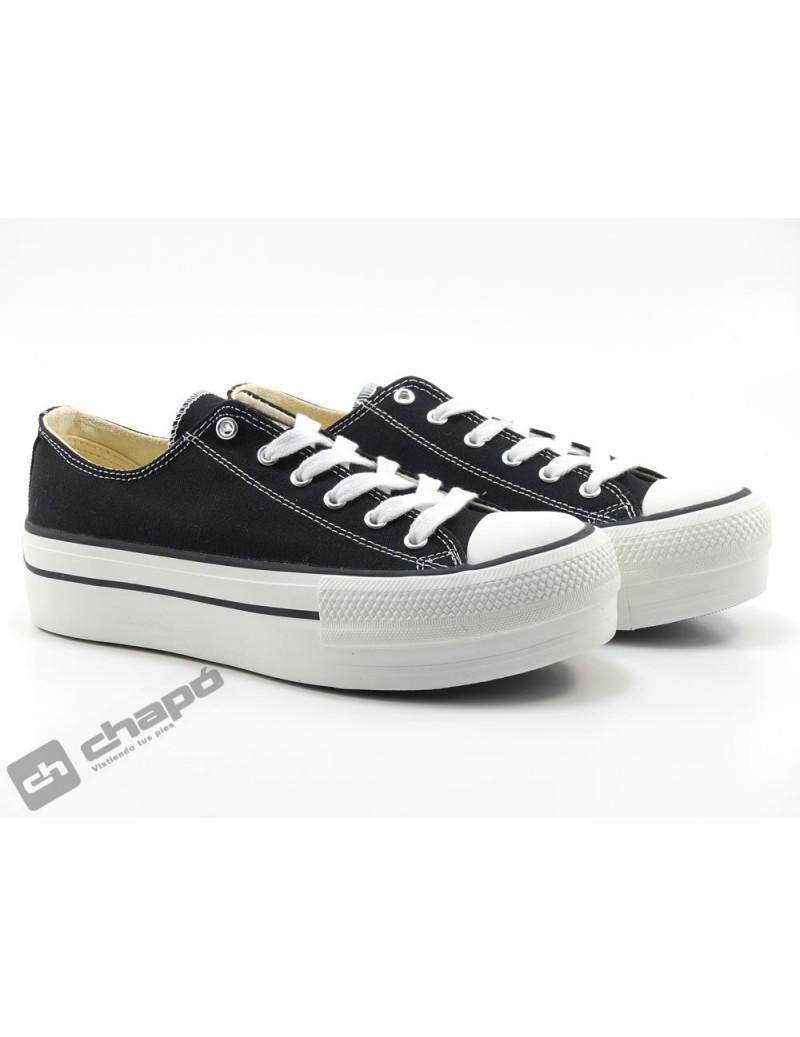 Sneakers Negro Zapatillas Victoria 1061100