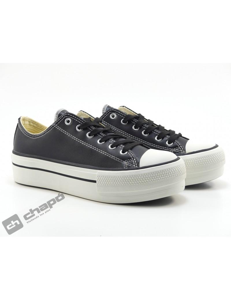 Sneakers Negro Zapatillas Victoria 1061106