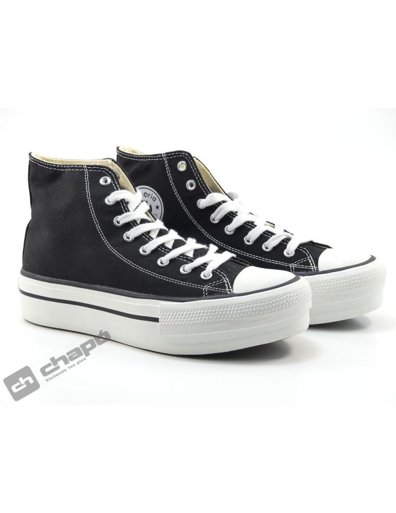 Sneakers Negro Zapatillas Victoria 1061101