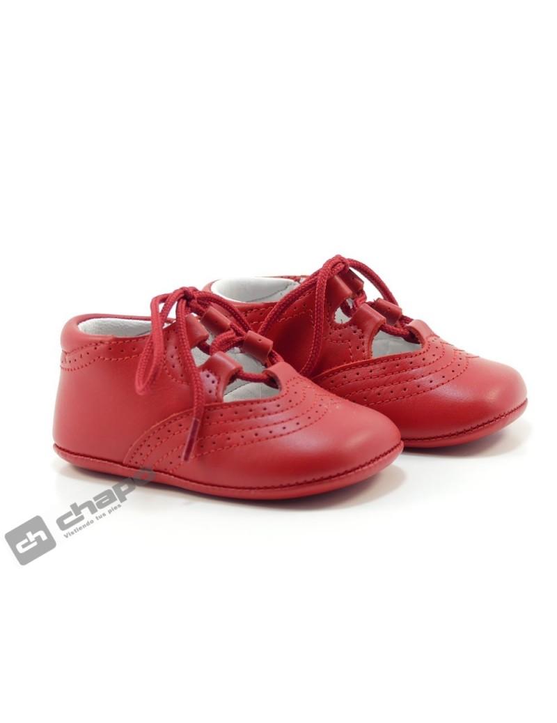 Zapatos Rojo D´bebe 2244