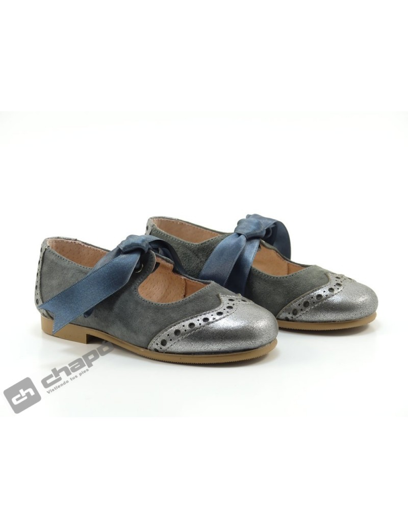 Zapatos Gris Ruts Shoes P-652
