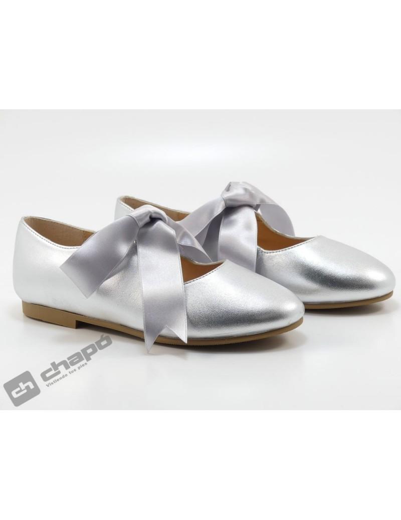 Zapatos Plata Ruts Shoes A-3445