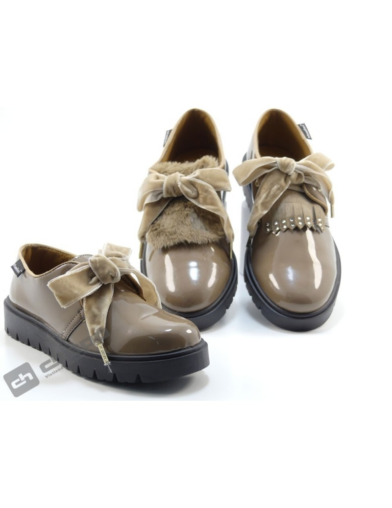 Zapatos Taupe Titanitos M990 Alava