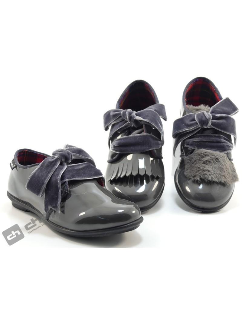 Zapatos Gris Titanitos F650 Grasse