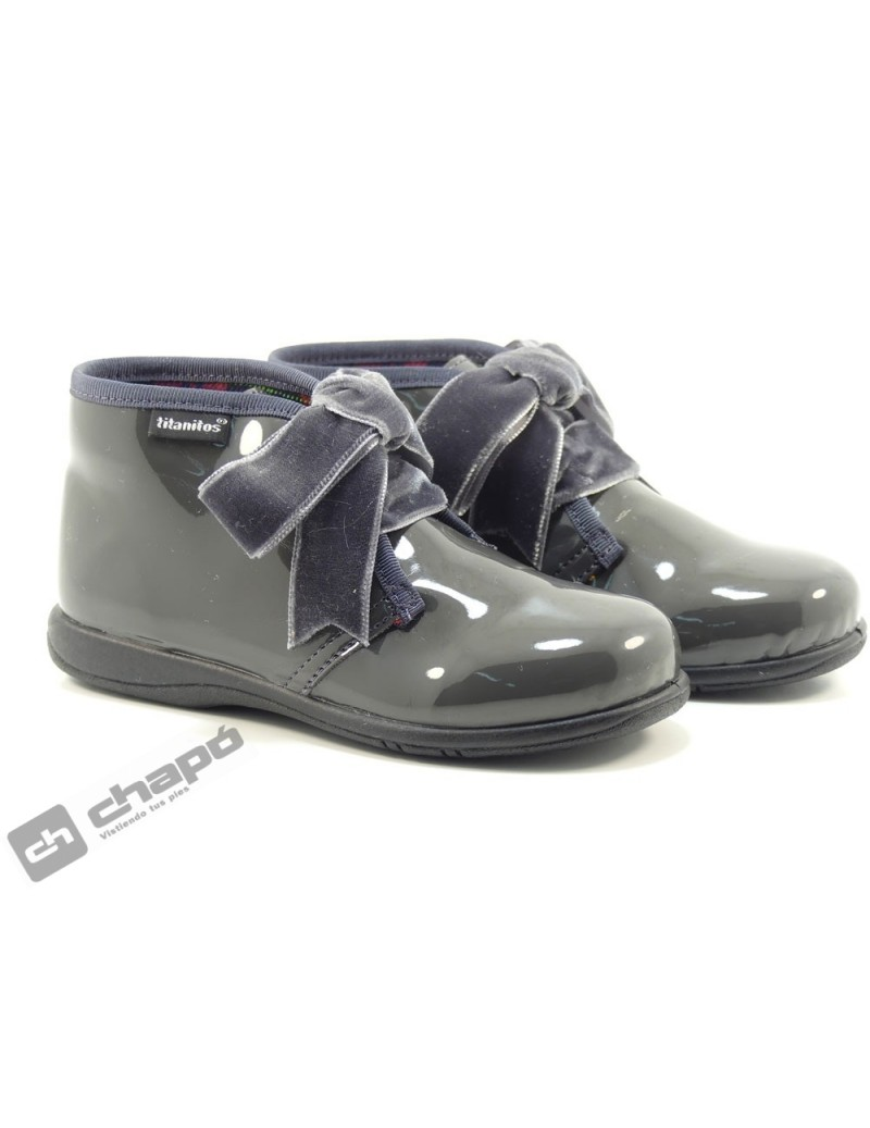 Botines Gris Titanitos F660 Lutterbach