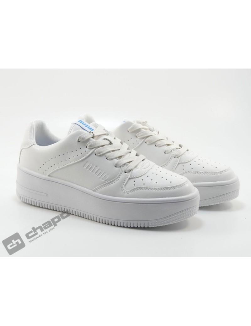 Sneakers Blanco Mustang 69753