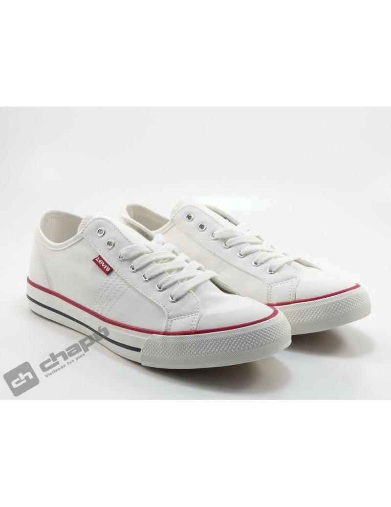 Zapato Deportivo Blanco Levi´s 233012-733-51
