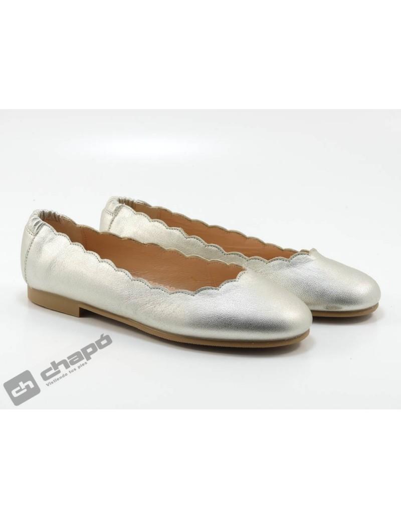 Zapatos Platino Ruts Shoes 3274
