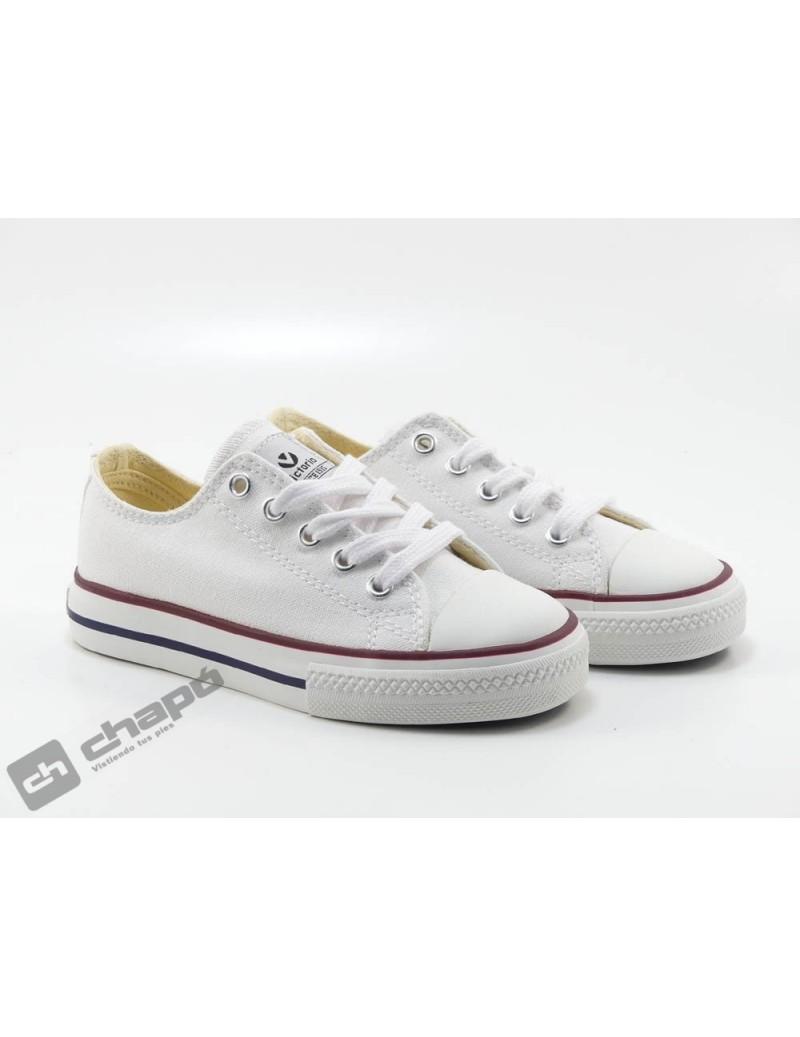 Zapato Deportivo Blanco Victoria 106550