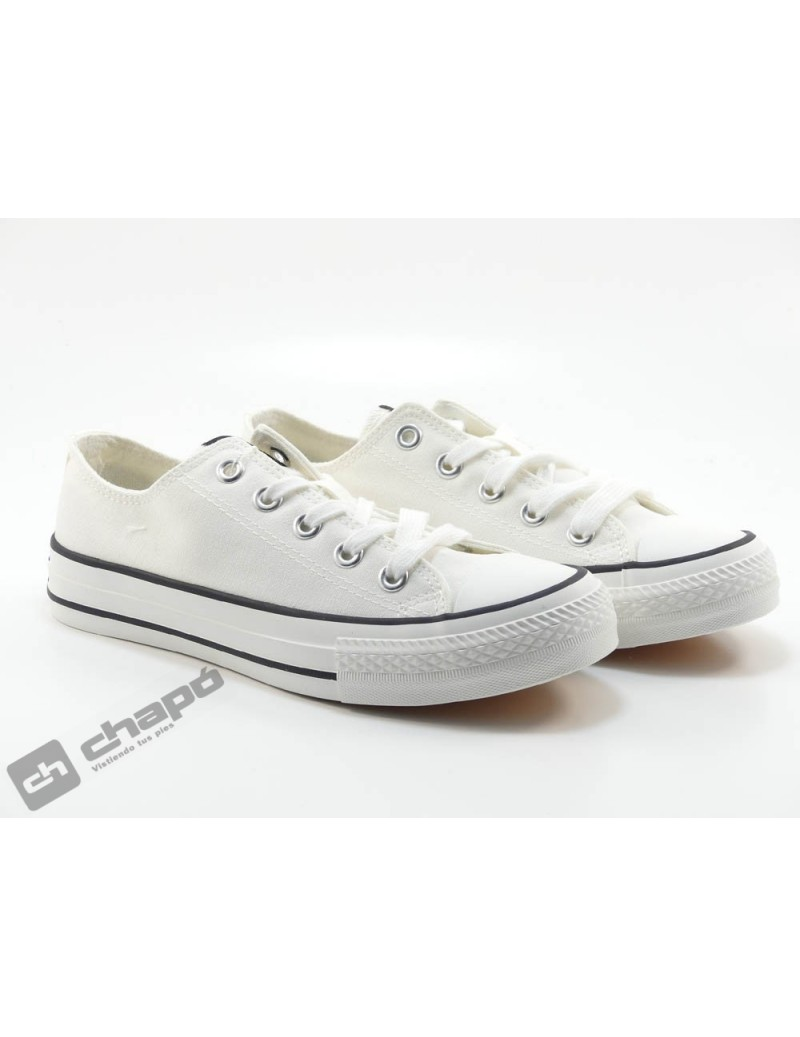 Snakers Blanco Mustang 69463