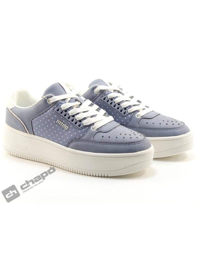 Zapato Deportivo Azul Mustang 69752