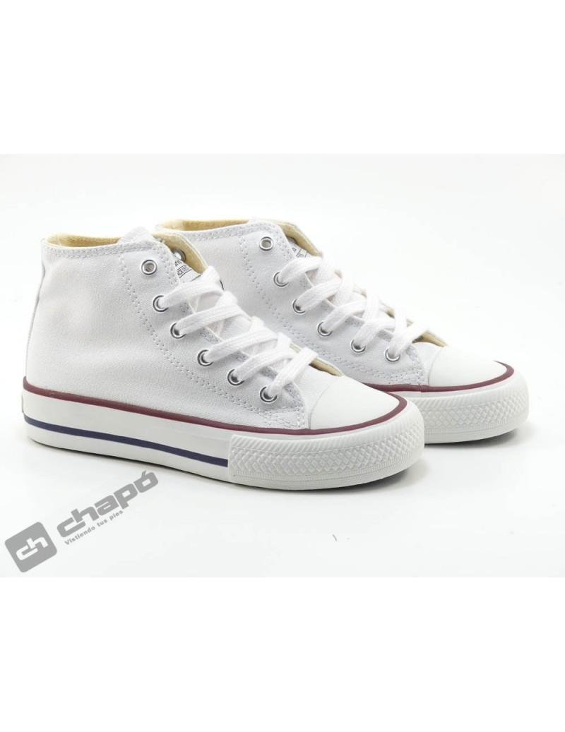 Zapatillas NiÑo-a Blanco Victoria 106500