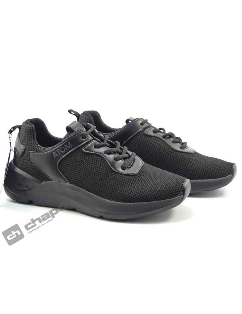 Sneakers Negro Fluchos F1253