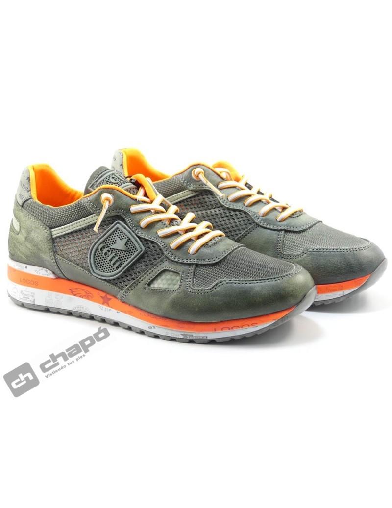 Zapato Deportivo Verde Cetti C-1216
