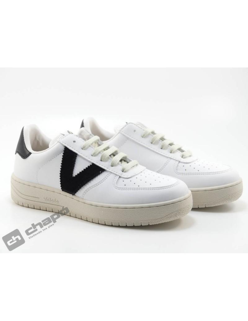 Zapato Deportivo Negro Victoria 1129101