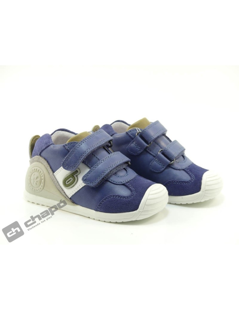 Zapatillas NiÑo-a Azul Garvalin 202151