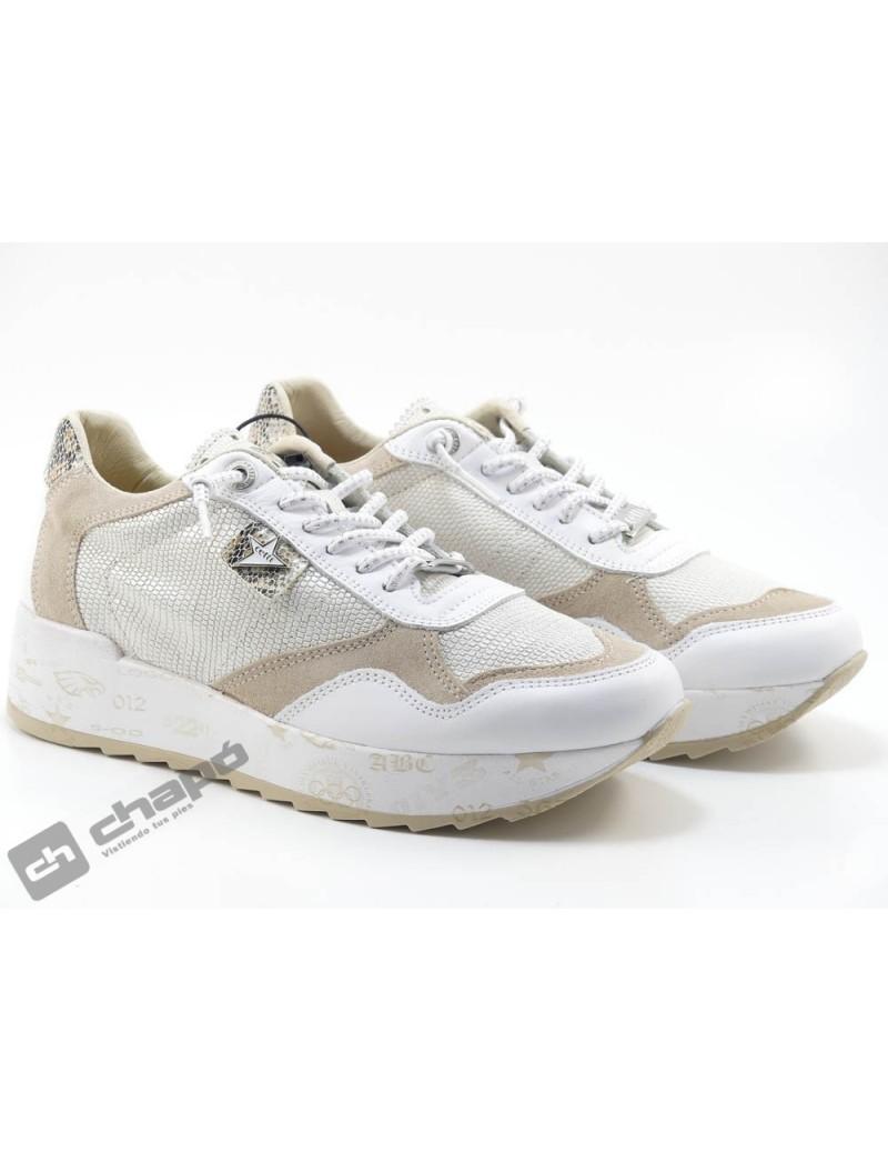 Zapato Deportivo Blanco Cetti C-848 Sra Xl