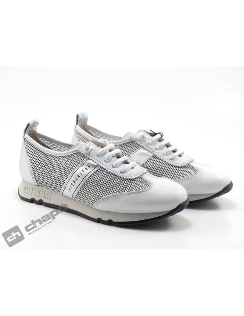 Zapato Deportivo Blanco Hispanitas Kaira-chv211244