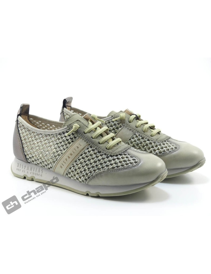 Zapato Deportivo Verde Hispanitas Kaira-chv211244