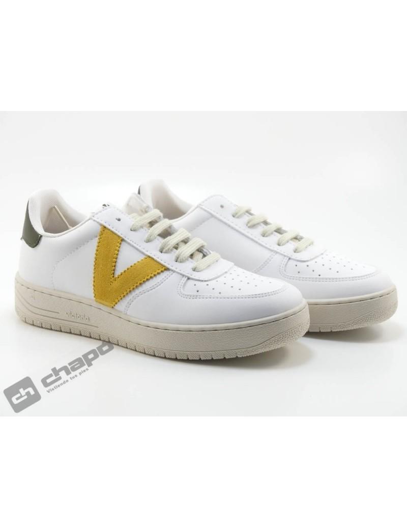 Zapato Deportivo Mostaza Victoria 1129101