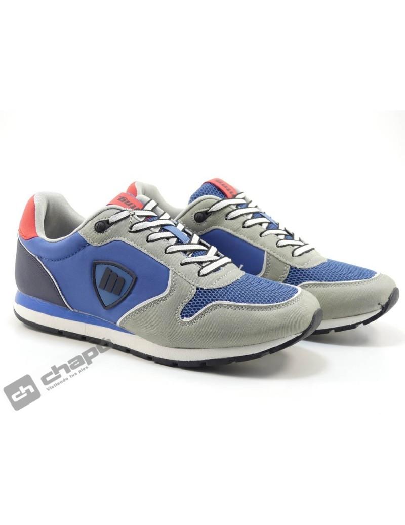 Zapato Deportivo Azul Mustang 84699