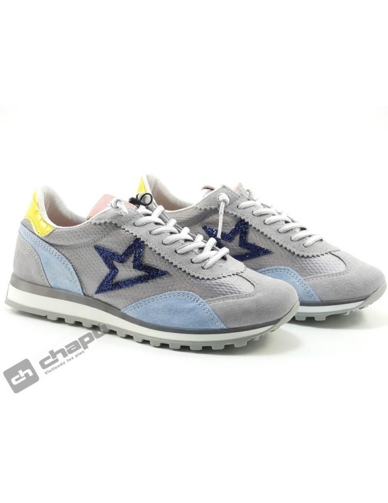 Zapato Deportivo Gris Cetti C-1259 Sra