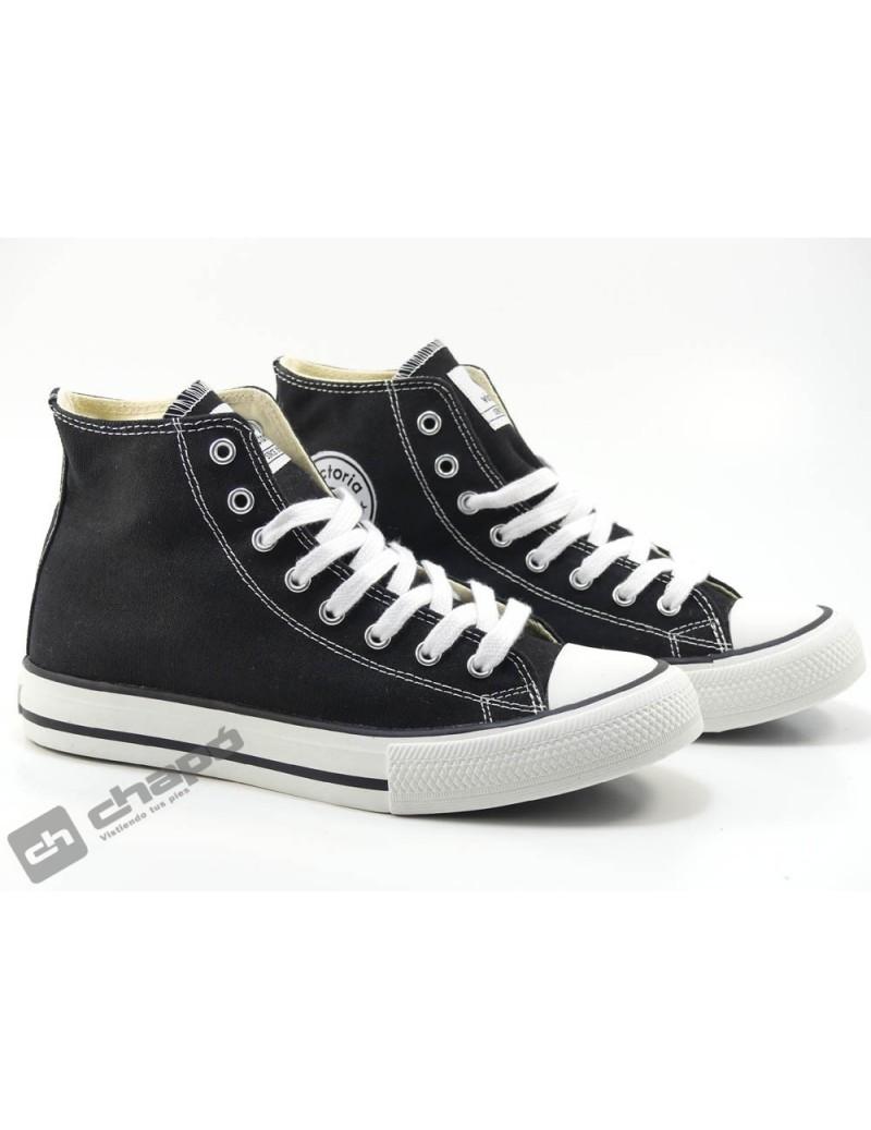 Zapato Deportivo Negro Victoria 106500