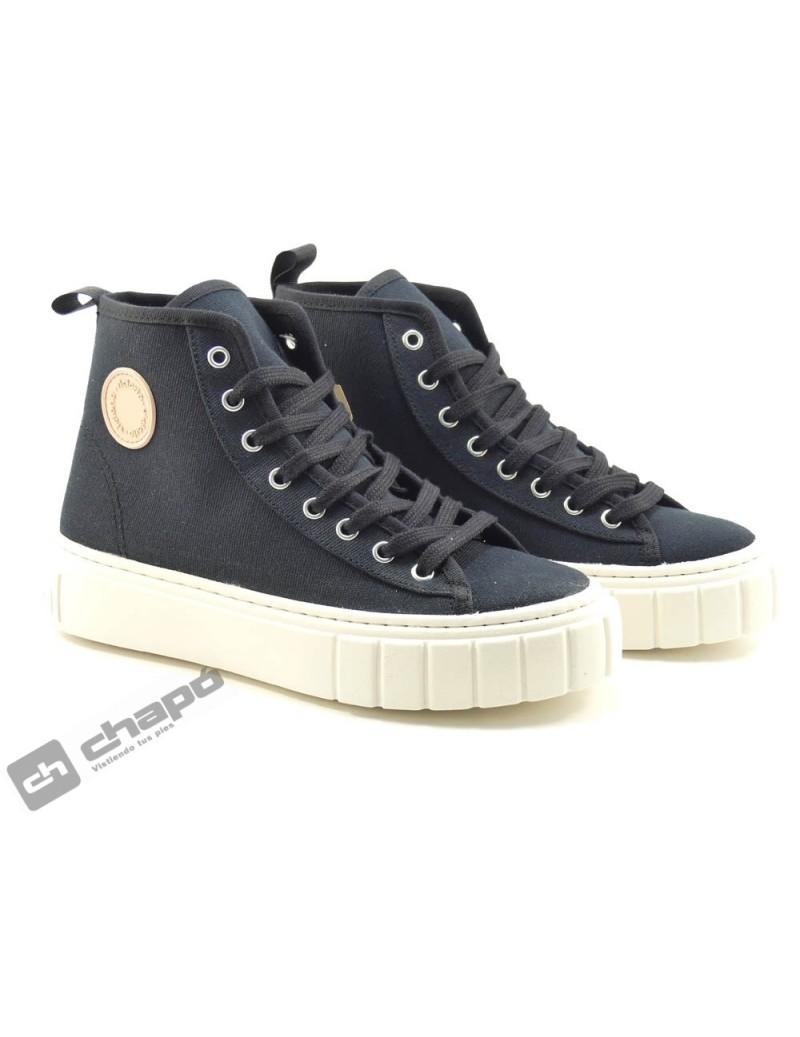 Zapato Deportivo Negro Victoria 1270100