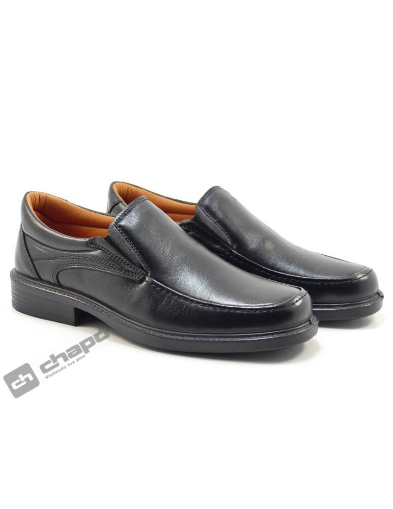 Zapatos Negro Luisetti 0106