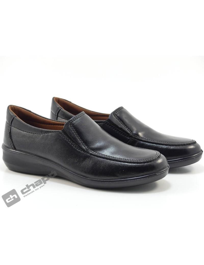 Zapatos Negro Luisetti 0302