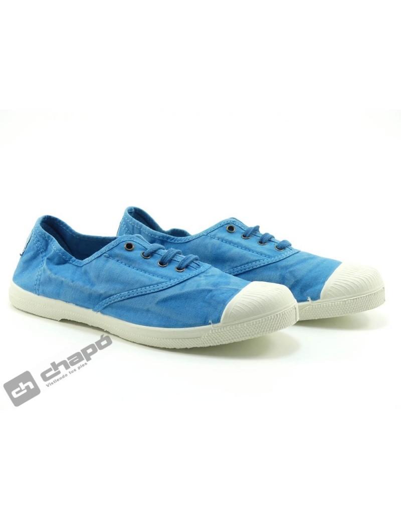 Zapato Deportivo Turquesa Natural World 102e